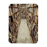 El interior de una librería de segunda mano Suecia Imanes Rectangulares