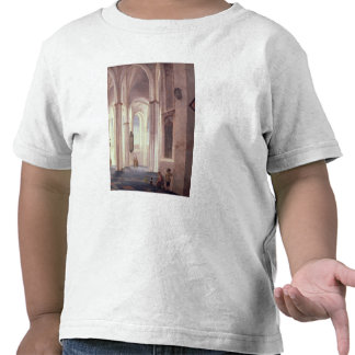 El interior del Buurkerk en Utrecht 1644 Camisetas