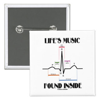 El interior encontrado música de la vida (latido pin