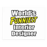 El interiorista más divertido del mundo tarjetas postales