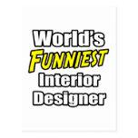 El interiorista más divertido del mundo tarjeta postal