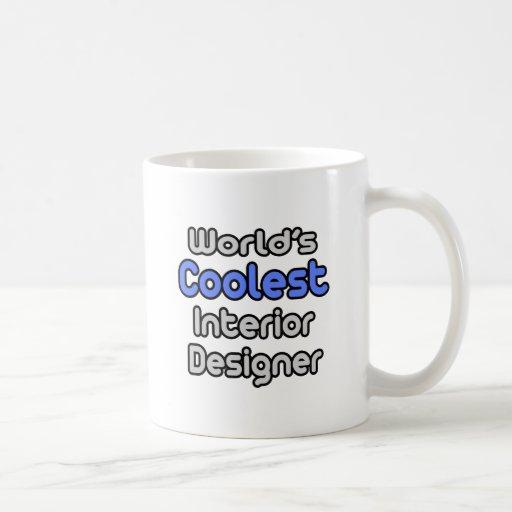 El interiorista más fresco del mundo taza básica blanca