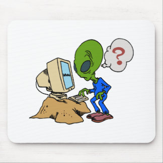 El Internet es extranjero a este Martian Tapete De Ratones