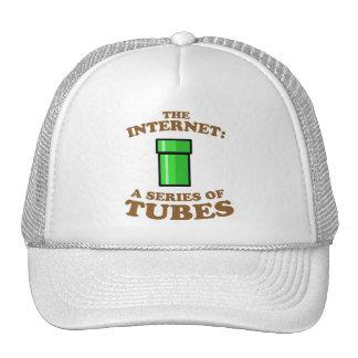 el Internet - it�s a las series de tubos - ted ste Gorras