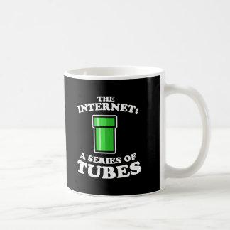 el Internet - it�s a las series de tubos - ted ste Tazas De Café