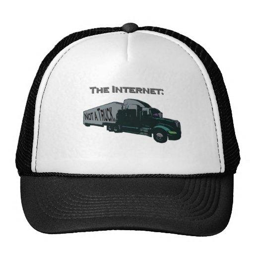 El Internet no es un camión Gorros Bordados