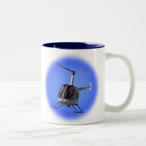 El interruptor del vuelo de la taza de café del he