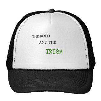 El intrépido y el irlandés gorros