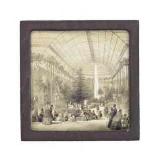 El invernadero, publicado por Auguste Bry (litho Cajas De Recuerdo De Calidad