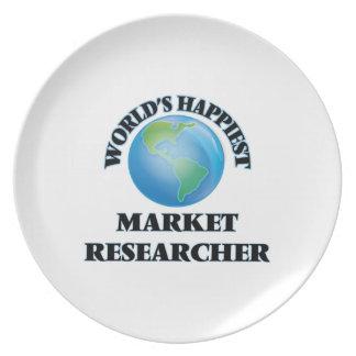 El investigador del mercado más feliz del mundo plato de cena