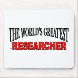 El investigador más grande del mundo tapetes de raton