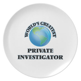 El investigador privado más grande del mundo plato