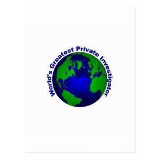 El investigador privado más grande del mundo postales