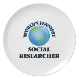 El investigador social más divertido del mundo platos