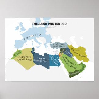 El invierno árabe póster