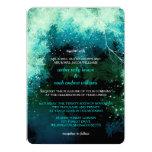 El invierno brilla las invitaciones místicas del invitación personalizada