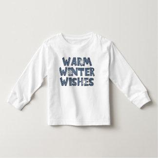 El invierno caliente desea la camiseta de los días