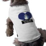 el invierno chupa el muñeco de nieve del emo camisa de mascota