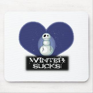 el invierno chupa el muñeco de nieve del emo tapetes de ratones