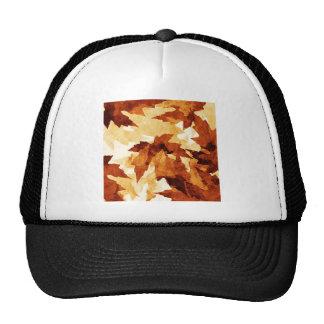 El invierno del otoño hojea los árboles verdes nat gorras