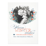 El invierno desea la tarjeta (el mejor premio de h invitacion personalizada