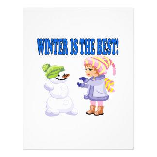 El invierno es el mejor