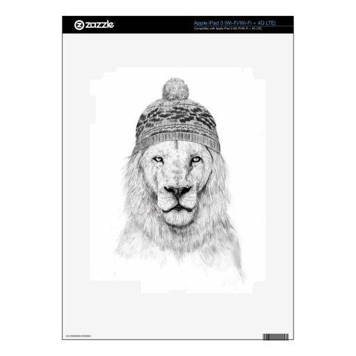 El invierno está viniendo iPad 3 pegatinas skins
