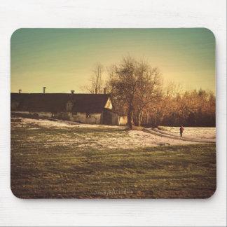 El invierno pasado paseo. Mousepad