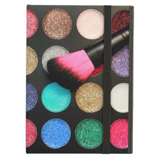 El iPad 2 del caso del maquillaje del brillo y sub