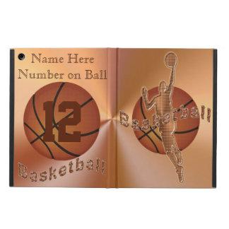 El iPad retro del baloncesto del vintage encajona
