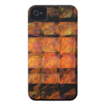 El iPhone 4/4S del arte abstracto de la pared iPhone 4 Case-Mate Carcasa