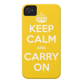 el iPhone 4/4S elige su color guarda calma iPhone 4 Cobertura