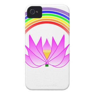 el iphone 4 apenas allí QPC cubre el arco iris y Case-Mate iPhone 4 Carcasa
