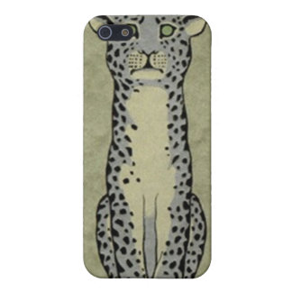el iPhone 4 gatos salvajes de moda del caso manchó iPhone 5 Funda