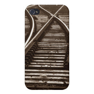 el iPhone 4 pistas de ferrocarril del viaje del tr iPhone 4 Protector