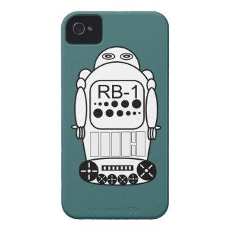 El iPhone 4s del robot encajona el azul y el Funda Para iPhone 4 De Case-Mate