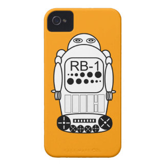 El iPhone 4s del robot encajona el naranja y el Carcasa Para iPhone 4 De Case-Mate