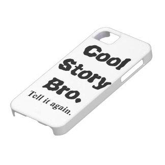 el iPhone 5 casos refresca la historia Bro Funda Para iPhone SE/5/5s