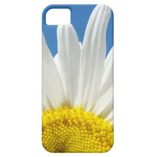 el iPhone 5 encajona el cielo azul de las flores d iPhone 5 Coberturas
