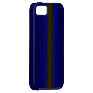 el iPhone 5 policía enrarece Blue Line iPhone 5 Fundas