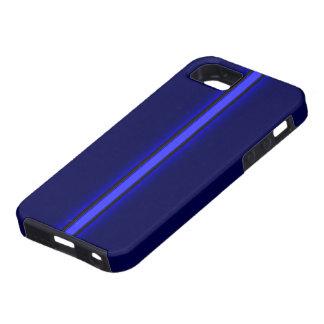 el iPhone 5 policía enrarece Blue Line iPhone 5 Carcasa