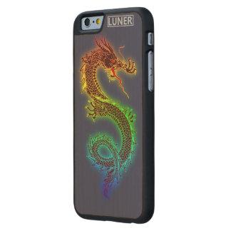 el iPhone 6/6s adelgaza el caso de madera del arce Funda De iPhone 6 Carved® Slim De Arce