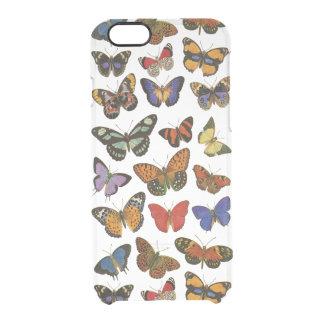 El iPhone 6/6S de las mariposas despeja el caso Funda Clearly™ Deflector Para iPhone 6 De Uncommon