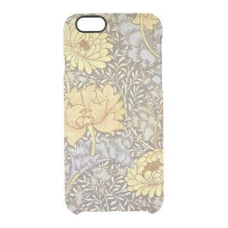 El iPhone 6/6S del crisantemo despeja el caso Funda Clear Para iPhone 6/6S