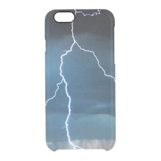 El iPhone 6/6S del relámpago despeja el caso Funda Clear Para iPhone 6/6S