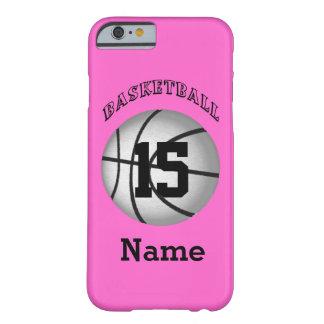 El iPhone 6 del baloncesto encajona su NOMBRE y Funda Para iPhone 6 Barely There