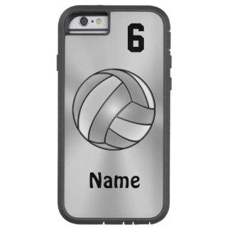 El iPhone 6 del voleibol encajona su NOMBRE y Funda Para iPhone 6 Tough Xtreme