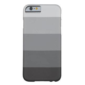 el iPhone 6 encajona sombras del | del color gris Funda Barely There iPhone 6