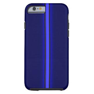 el iPhone 6 policía del caso enrarece Blue Line
