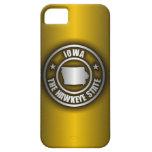 """El iPhone de acero 5 de """"Iowa"""" encajona el (G) iPhone 5 Fundas"""